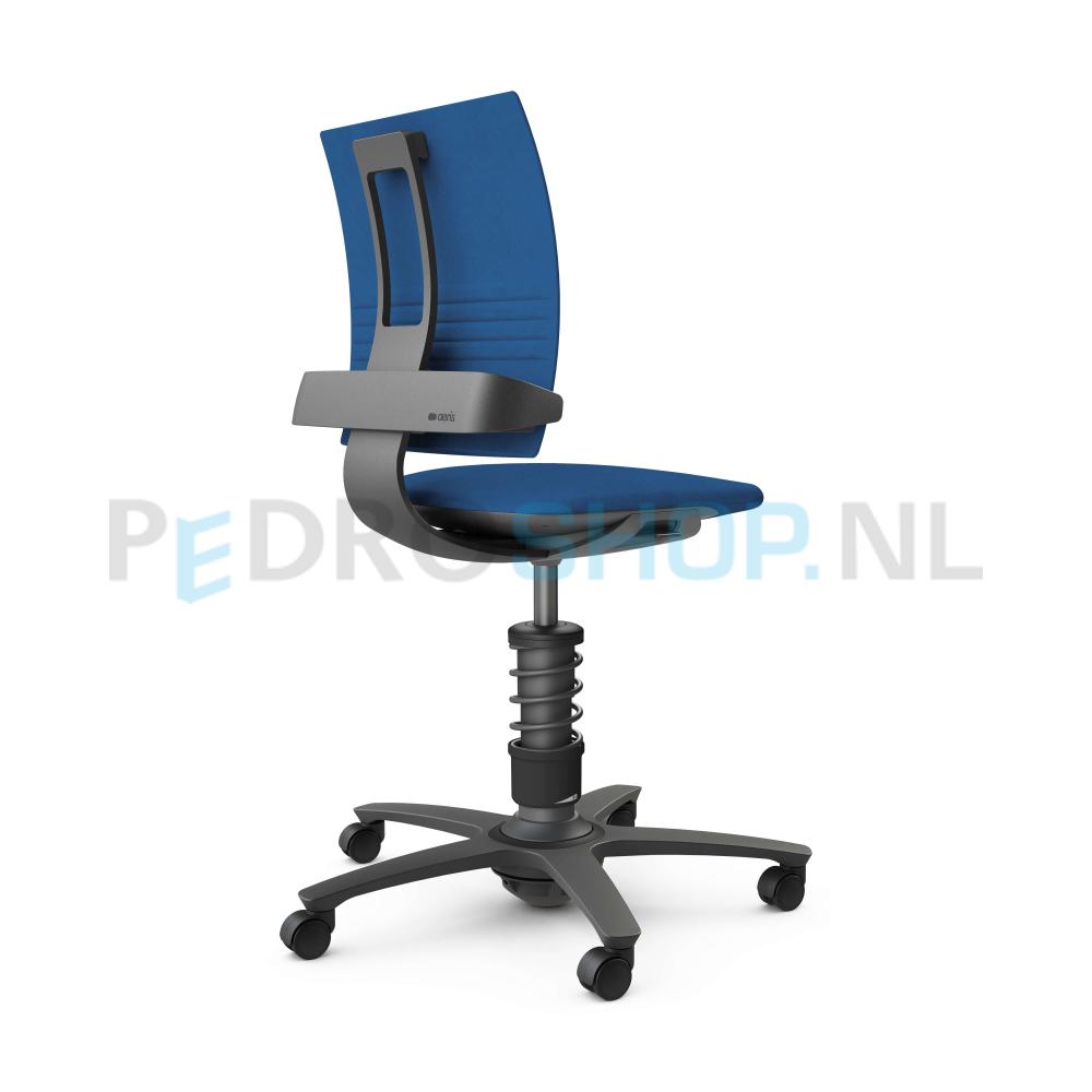 Bureaustoel Blauw Zwart.3dee Bureaustoel In Blauw Voor Uw Personeel Voordelig Online